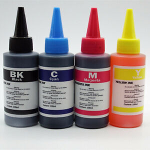 5-x-100ml-Refill-Dye-Ink-Kit-For-Hp-Deskjet-3521-3522-4620-Photosmart-5510-5511