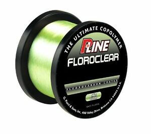 P line floroclear mist green 1000m spool special carp for Pline fishing line