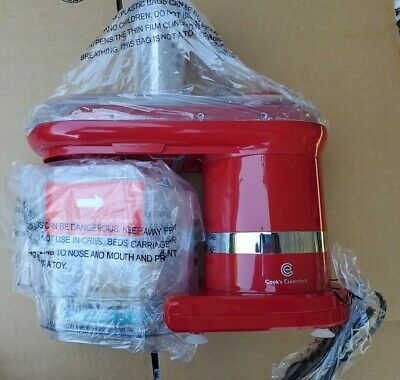Model K45560-039-000 RED COOK/'S ESSENTIALS ELECTRIC MANDOLINE WITH  7 BLADES