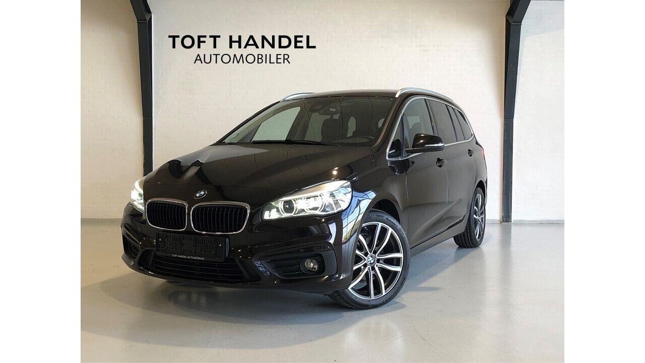 BMW 218d 2,0 Gran Tourer Advantage aut. 7p 5d - 269.900 kr.