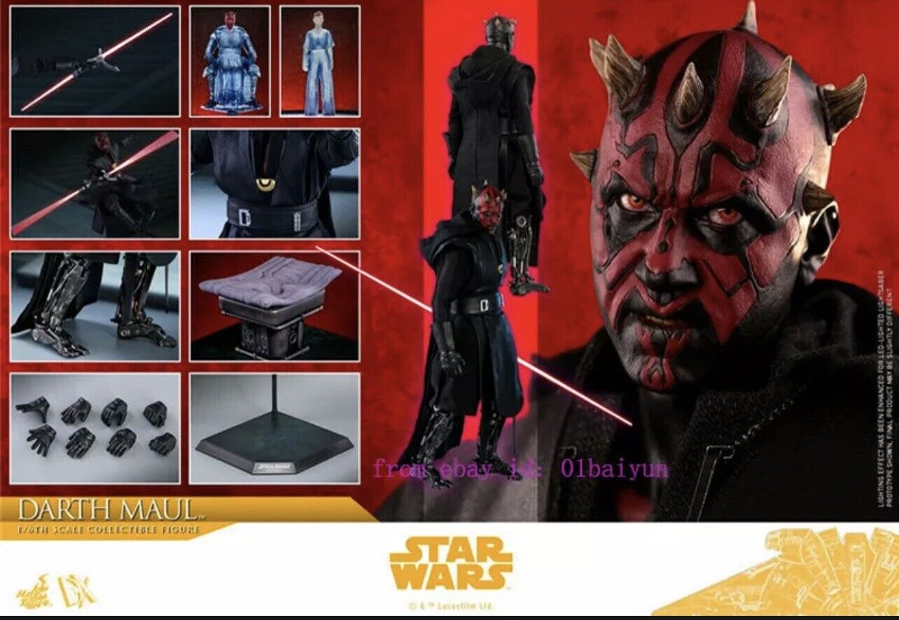 Hot Toys Solo: A Star Wars Story - Darth Maul 1/6th Scale Collectible Sealed New on eBay thumbnail
