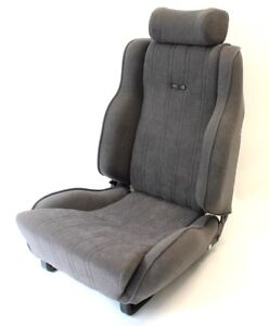 Sedili auto Accessori per auto Set di Ford Escort MK3 rear seat covers in velluto RS1600i Grigio