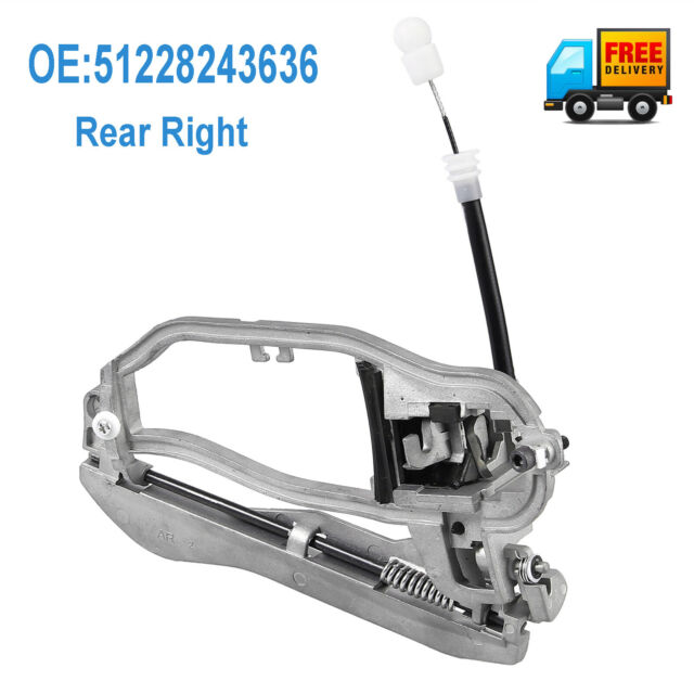 Door Handle Carrier For BMW X5 E53 Inner Rear Right Driver Side 51228243636 AU