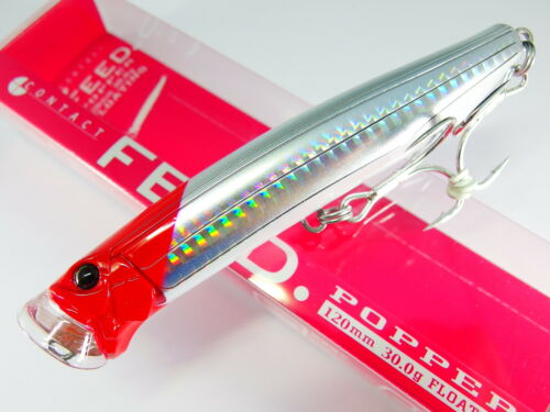 FEED POPPER 120 120mm 30g #1 RED HEAD TACKLE HOUSE