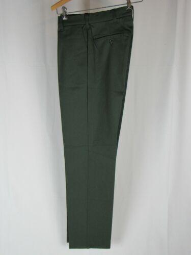Vtg 1970's Dickies Green Work Pants Talon Zipper M