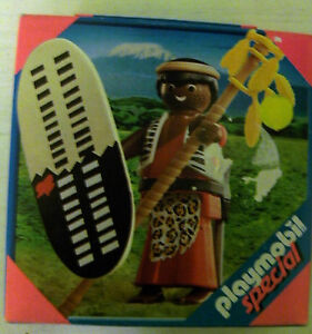 Playmobil Special Massai-Krieger Nr.4685 Alter 4 Abenteuer OVP Playmobil