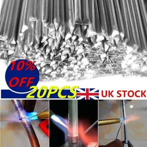 20PC Durafix Aluminium Welding Rods Wire Filler Brazing Low Temperature UK.!