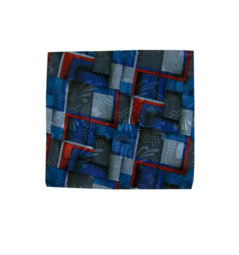 $5 Pocket Squares black blue brown gray green orange pink red yellow gold