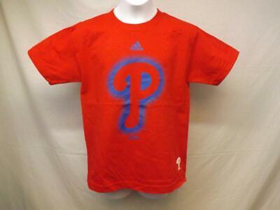 New-minor Fehler Philadelphia Phillies Adidas Jugendliche S 8 Rot Shirt W Weitere Ballsportarten Tag Baseball & Softball