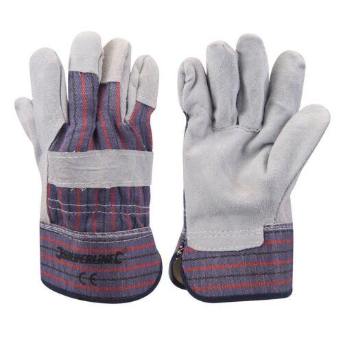 3 6 12 Expert Rigger Glove Gardening,Builder, Safety Work Gauntlets,Heavy Duty