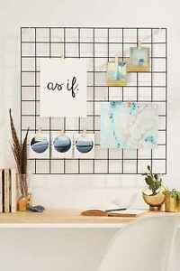 Japan Import Kitchen Garden Wire Hanging Rack Mesh Memo
