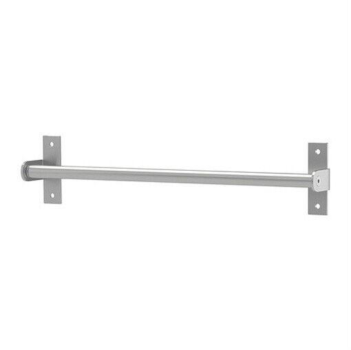 "IKEA rail stainless steel 16"" cutlery caddy utensil pot pan lid holder Grundtal"