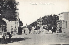 Porte d'Entrée l'Arsenal FERRYVILLE Tunisie Afrique Carte Postale Ancienne E.C.