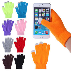 Unisex-Knitted-Wool-Gloves-Warm-Finger-Winter-Fit-Phone-Tablet-Touch-Screen-Hot