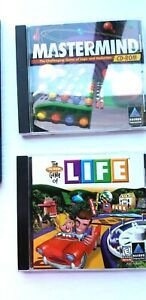 Lot-of-4-PC-games-Monopoly-Deluxe-Hidden-Objects-Mastermind-amp-Game-of-Life-PC