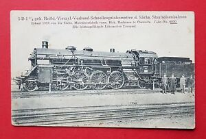 Eisenbahn-AK-Dampflok-Lokomotive-No-4000-von-Hartmann-Chemnitz-32944