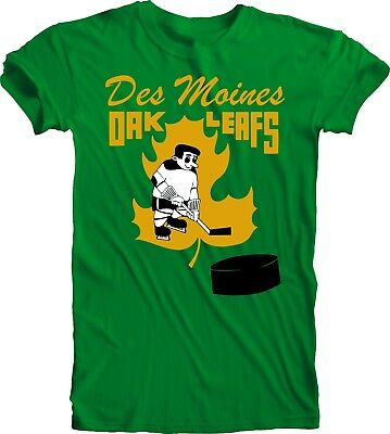 Sports Mem, Cards & Fan Shop Motivated Des Moines Oak Leafs Defunct Nhl Ice Hockey Vintage Style T-shirt Team Sports Relieving Heat And Sunstroke