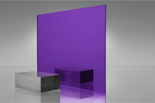"5 Sheets 1//8/"" PURPLE Mirror Acrylic Plexiglass 12/"" x  12/"""