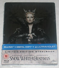 Snow White And The Huntsman Blu Ray Steelbook Limited New Sealed + Digital Copy