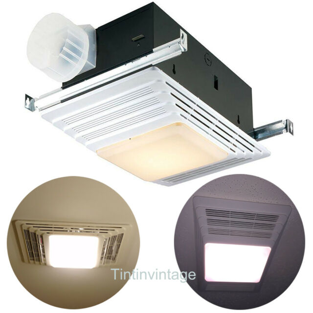 Nautilus N735 Bathroom Heater Fan Light Night Light Designer