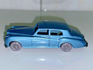Rara-Vintage-Matchbox-Lesney-No44-Rolls-Royce-Nube-De-Plata-Hecho-En-Inglaterra-Como-Nuevo