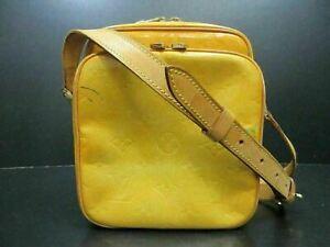 Auth Louis Vuitton Vernis Wooster m91036 Schultertasche Lack Leder 90492