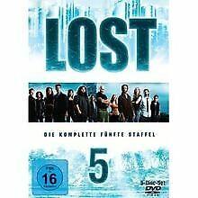 Lost-Die-komplette-fuenfte-Staffel-5-DVDs-von-Jack-Ben-DVD-Zustand-gut