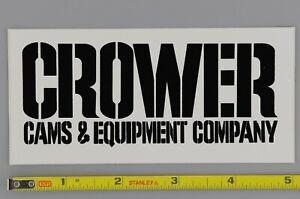 Crower-Cams-Decal-Sticker-Original-70-039-s-Vtg-Drag-Racing-NHRA-Nascar-Hot-Rod-Car