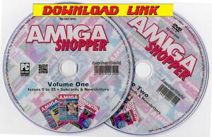 AMIGA SHOPPER Magazine Collection PDF DOWNLOAD +Bonus (1200/A500/CD32/4000/1000)