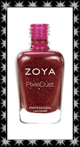 Zoya *~Chyna~* Nail Polish Lacquer 2013 PixieDust Matte Sparkle Discontinued!