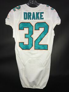 best service 5aaee dca52 32 KENYAN DRAKE MIAMI DOLPHINS GAME USED/TEAM ISSUED NIKE ...