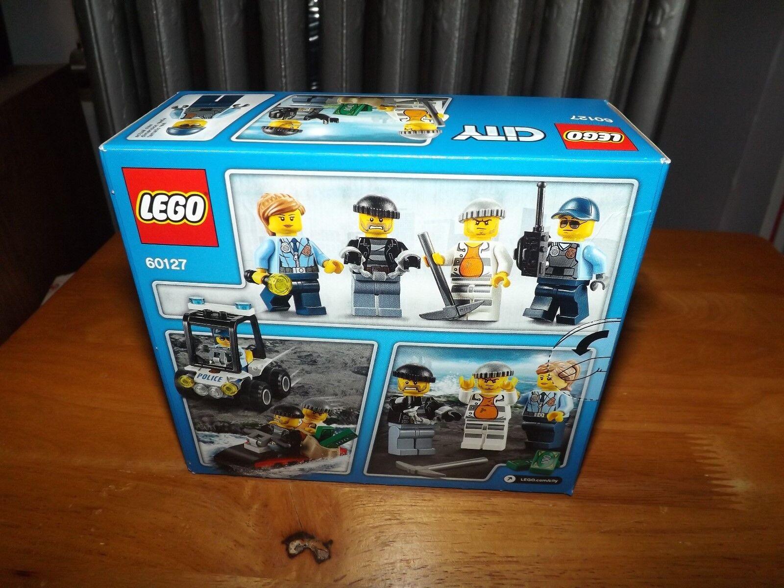 Lego City Prison Island Starter Set Kit 60127 92 Pieces Nib Police Hover To Zoom