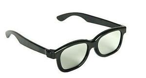3D-Glasses-Passive-Polarized-Black-Movies-Cinema-Films-TVs-Pack-of-2