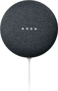 Google Nest Mini (2nd Generation) Smart Speaker - Charcoal