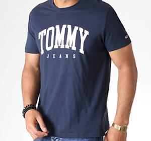 Details zu TOMMY JEANS Tommy Hilfiger Herren T Shirt Baumwolle Kurzarm XS XL