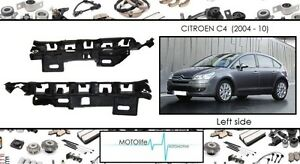 citroen c4 2004 10 pare choc avant support de fixation montage gauche ebay. Black Bedroom Furniture Sets. Home Design Ideas