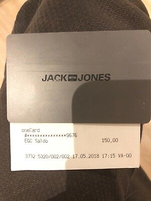 JACK AND JONES Gutschein Onecard EUR 145,00 | PicClick DE
