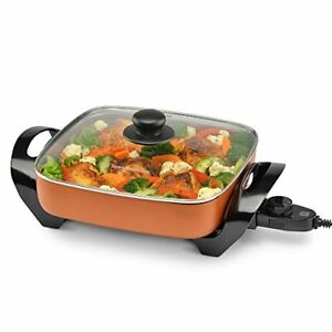 NEW-Toastmaster-TM-11SKCP-Skillet-Copper-FREE2DAYSHIP-TAXFREE