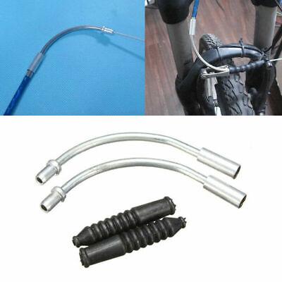 100pcs Housing End Caps Bike Ferrules Ferrule Brake T4O1 Metal Bicycle T G2G5