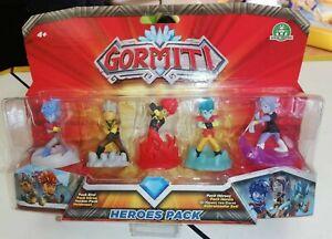 GORMITI HEROES PACK SET 5 PERSONAGGI   eBay