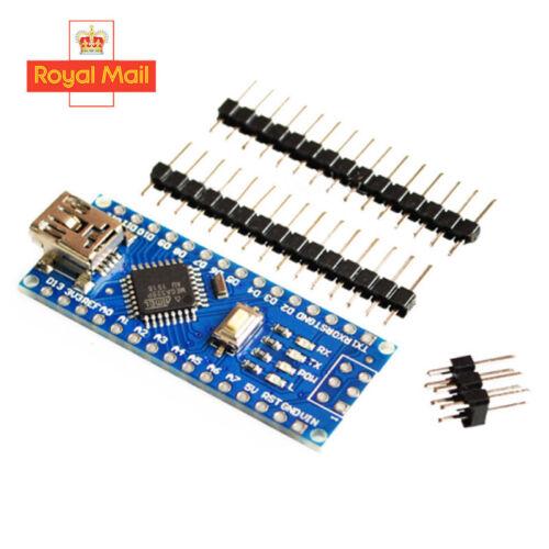 Arduino Nano V3.0 Compatible Board 16Mhz Mini USB Atmega328P Multipack UK