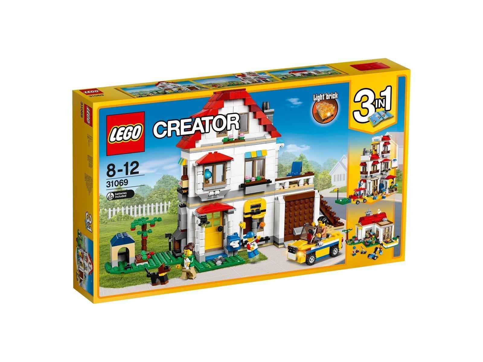 LEGO Creator 31069 Familienvilla Neu OVP
