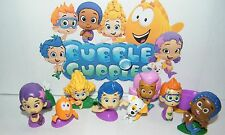 Nickelodeon Bubble Guppies Figure Set of 12 with Gil, Molly and More!