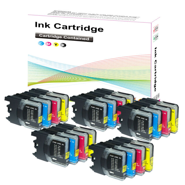 20 Ink Cartridge for Brother LC1100 MFC 6490CW 6870CDW