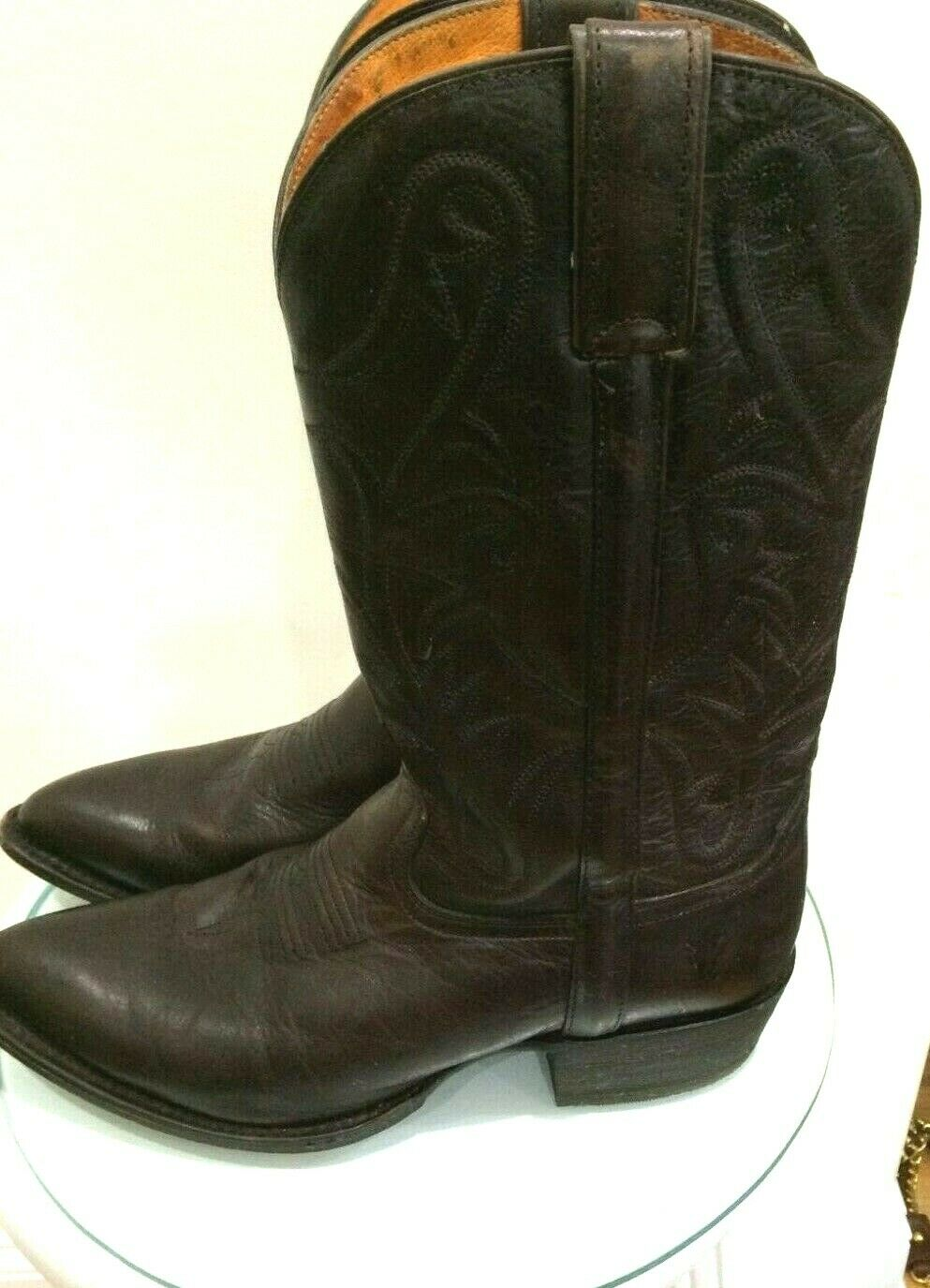 Frye Womens BROWN PULL ON BOOTS SIZE 10B