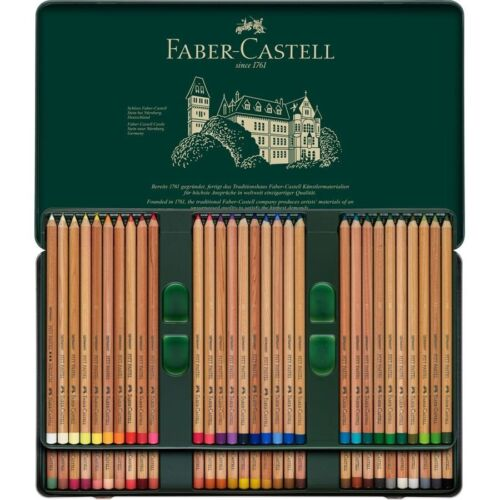 Pastels Pencils FABER CASTELL 60 color 112160 metal box great price