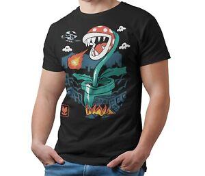Piranha-Plant-Mario-T-Shirt-Kaiju-Japanese-Monster-Unisex-Tee-Shirt-Adult-amp-Kids