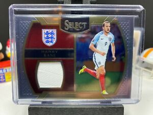 2016-17 Panini Select Soccer HARRY KANE Select Materials Patch England