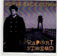 (ER50) Rupert Stroud, Never Back Down - DJ CD