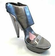 Paris Hilton Chaussures Femme Addiction Fashion Escarpins Pewter 11 M